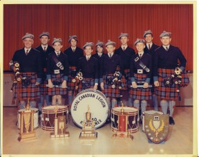 kitchener-legion-branch-50-pipe-band-circa-1969