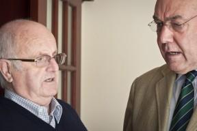 Walter Cowan being interviewed by Allan Hamilton